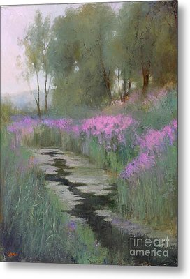 Summer Oasis  Metal Print by Lori  McNee