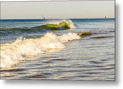 Summer Ocean Scene 1 Metal Print