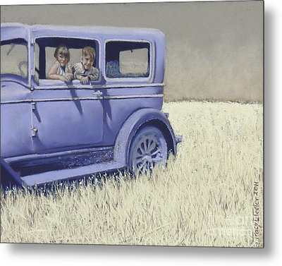 Summer Of '29 Metal Print by Tracy L Teeter