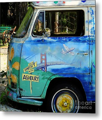 Summer Of Love In Hashbury Metal Print by Jimmy Ostgard