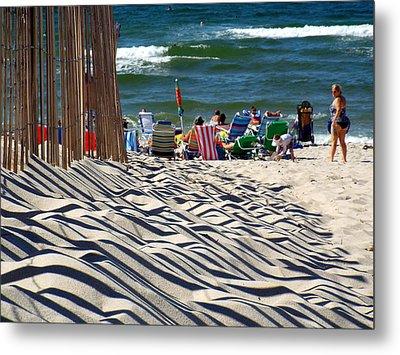 Summer On Cape Cod Metal Print by Dianne Cowen