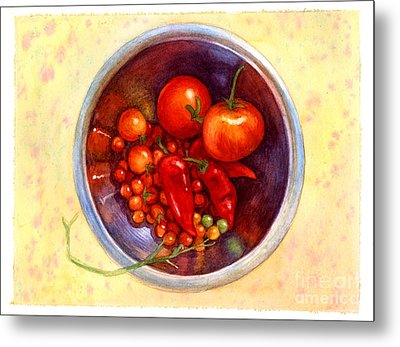 Summer Reds Metal Print by Isabella Kung