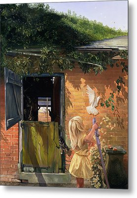 Summer Reflection Metal Print by Timothy  Easton