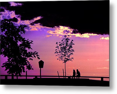 Metal Print featuring the photograph Summer Romance by Mike Flynn