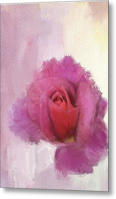 Summer Rose Metal Print by Mary M Collins