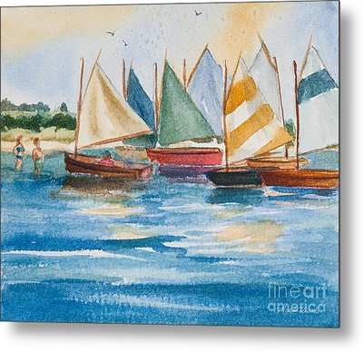 Summer Sail Metal Print by Michelle Wiarda