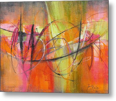 Summer Sangria Metal Print by Tracy Male