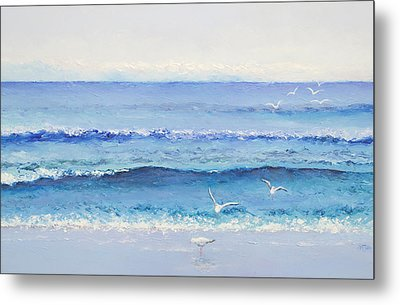 Summer Seascape Metal Print