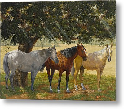 Summer Shade Metal Print