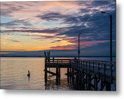 Summer Solstice At Crescent Beach Metal Print by Paul W Sharpe Aka Wizard of Wonders