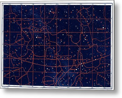 Summer Solstice Constellations Metal Print by Collection Abecasis