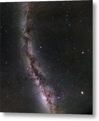 Summer Stars Without Light Pollution Metal Print