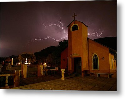 Metal Print featuring the photograph Summer Storm by Riana Van Staden