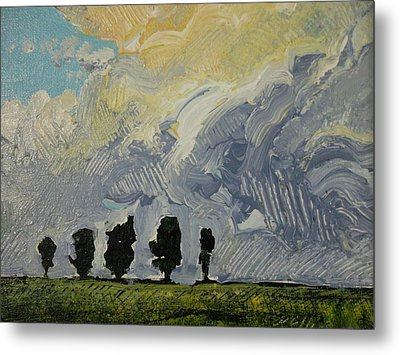 Summer Storm Metal Print by Rodger Ellingson