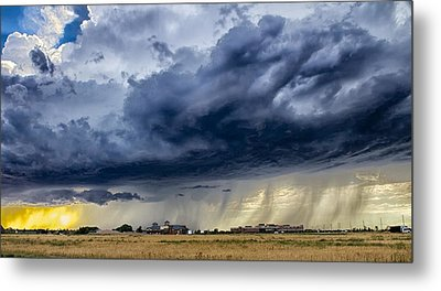 Metal Print featuring the photograph Summer Storm Twin Falls Idaho by Michael Rogers