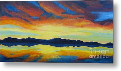 Summer Storms Metal Print by Alicia Fowler