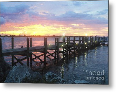 Summer Sunset Metal Print by Megan Dirsa-DuBois