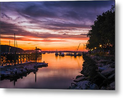 Summer Sunset Metal Print by Mike Lang