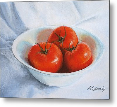 Summer Tomatoes Metal Print by Marna Edwards Flavell