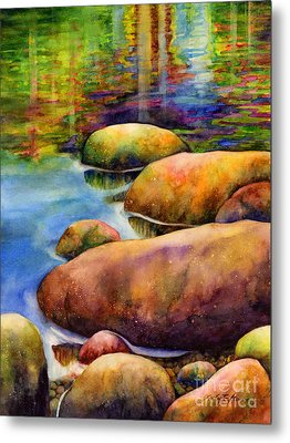 Summer Tranquility Metal Print by Hailey E Herrera