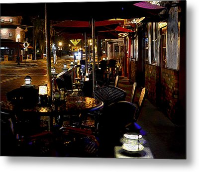 Summerlin Cafe Metal Print