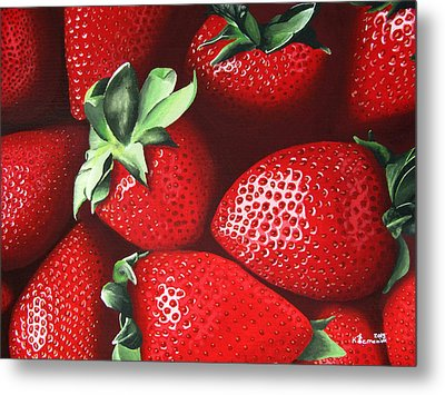Summer's Bounty Metal Print by Kayleigh Semeniuk