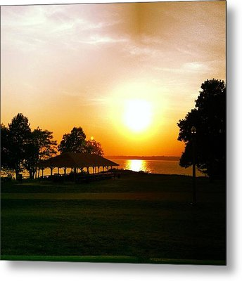 Summers End Metal Print by Stephen Melcher
