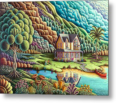 Summertime Metal Print by Andy Russell
