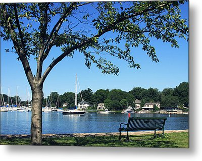Metal Print featuring the photograph Summertime At The Marina by Aurelio Zucco