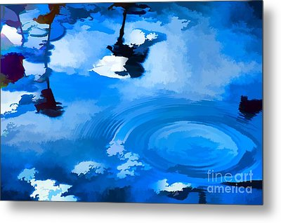Summertime Blue Metal Print by Robyn King