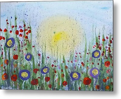 Summertime Metal Print by Carol Duarte
