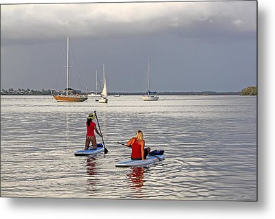 Summertime Fun Metal Print by HH Photography of Florida