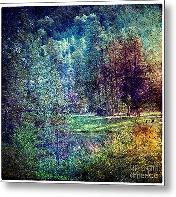 Summertime In Vail Metal Print