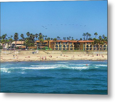Summertime Metal Print by Tammy Espino