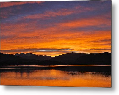 Summit Skies Metal Print by Bob Berwyn