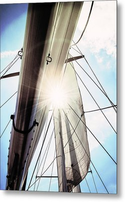 Sun And Sails Metal Print