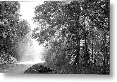 Sun Beams Metal Print by Todd Hostetter