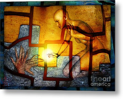 Sun Catcher Metal Print