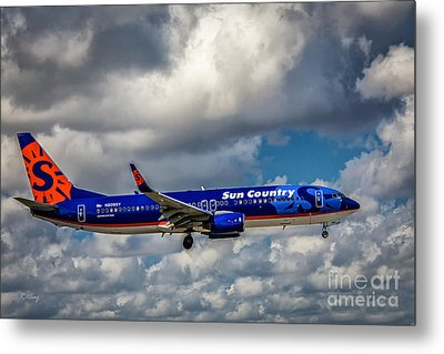 Sun Country Boeing 737 Ng Metal Print