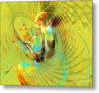 Sun Dancer Metal Print by Jeanne Liander