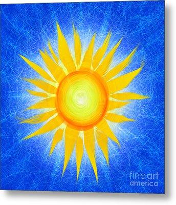 Sun Flower Metal Print by Tim Gainey