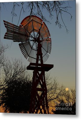 Sun Moon And Wind Metal Print by Robert Frederick