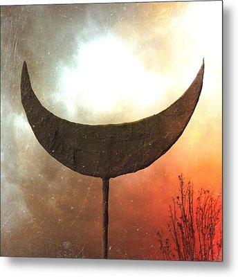 Sun Moon Stars  Metal Print