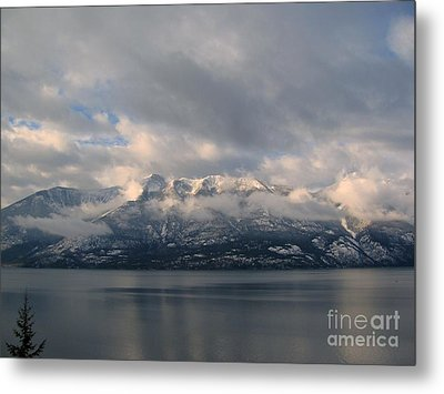 Sun On The Mountains Metal Print by Leone Lund