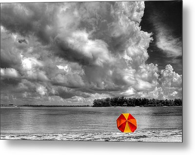Sun Shade Metal Print by HH Photography of Florida