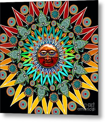 Sun Shaman Metal Print by Christopher Beikmann