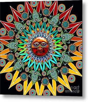 Sun Shaman Metal Print