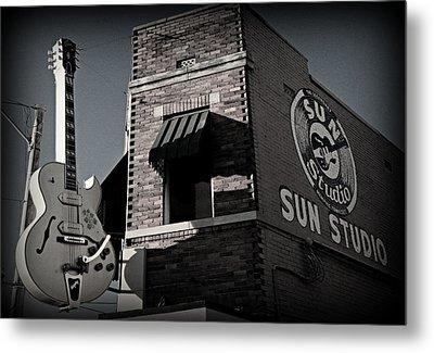 Sun Studio - Memphis Metal Print
