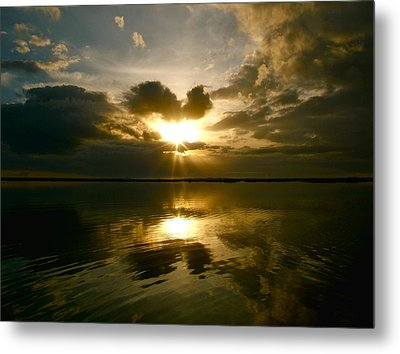 Sun Up  Metal Print by Paul Foutz