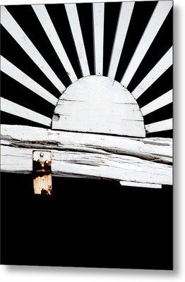 Sunbeam Wood Metal Print by Isabelle Mbore